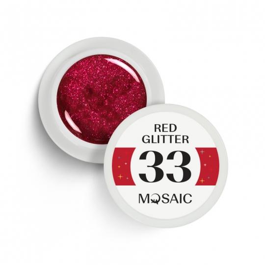 33. Red Glitter