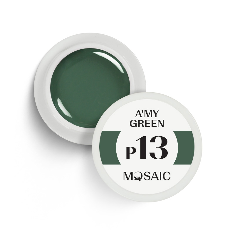 P13. A'my green