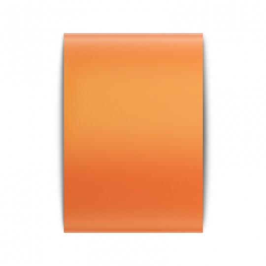 Оранжевая матовая