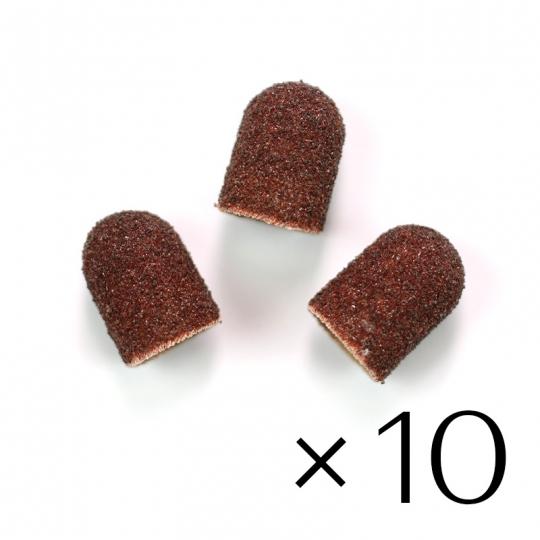 Sanding paper caps 10x15. Coarse