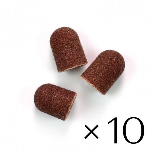 Sanding paper caps 10x15. Medium