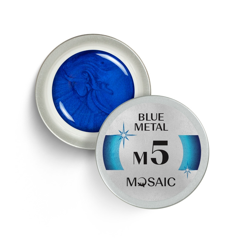 M5. Blue metal