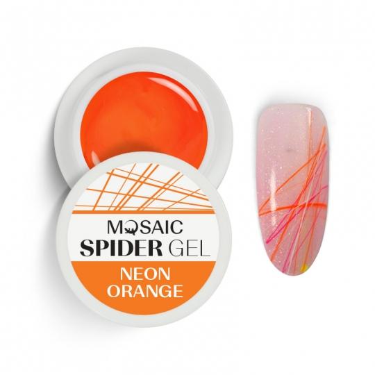 Паутинка оранжевый неон