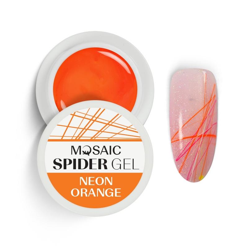 Spider gel neon orange