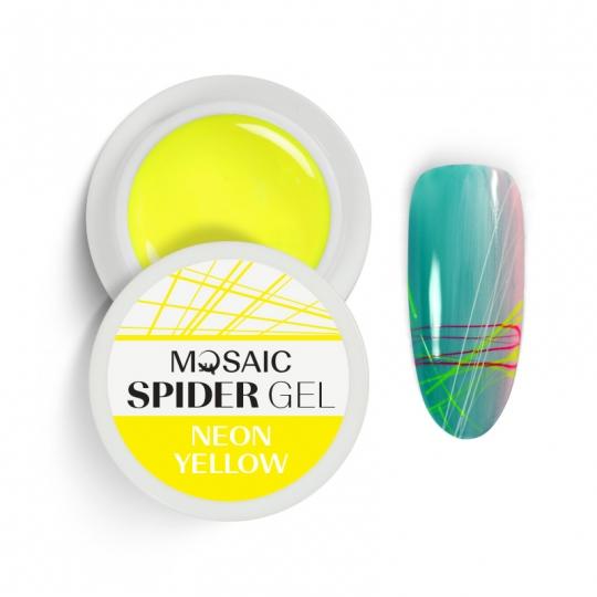 Spider geel Neoon kollane