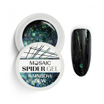 Spider geel Rainbow Dew