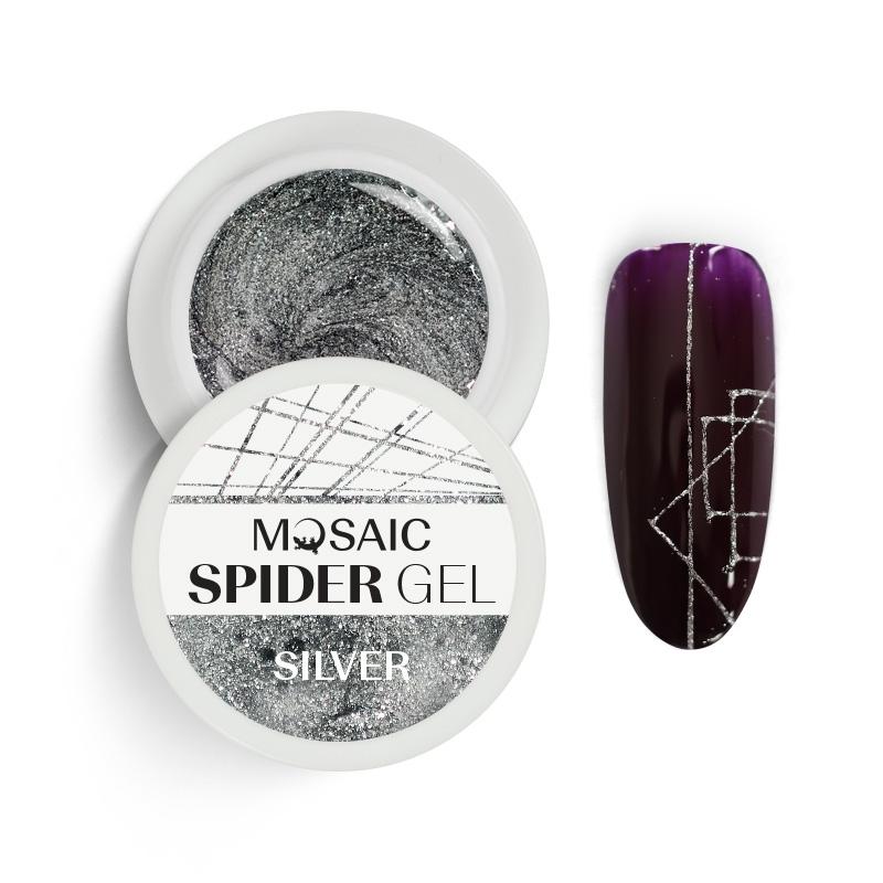 Spider geel Hõbe