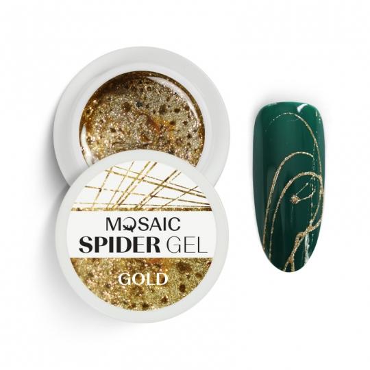 Spider geel Kuld