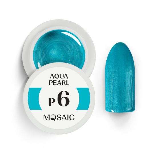 P6. Aqua pearl