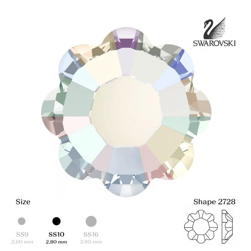 2728 SS10 Crystal AB
