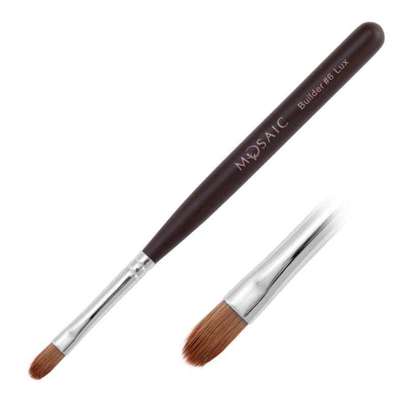 Gel builder brush nr.6 Lux