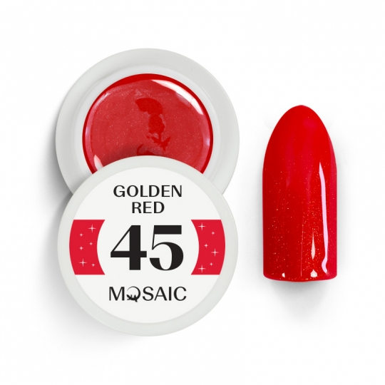 45. Golden Red