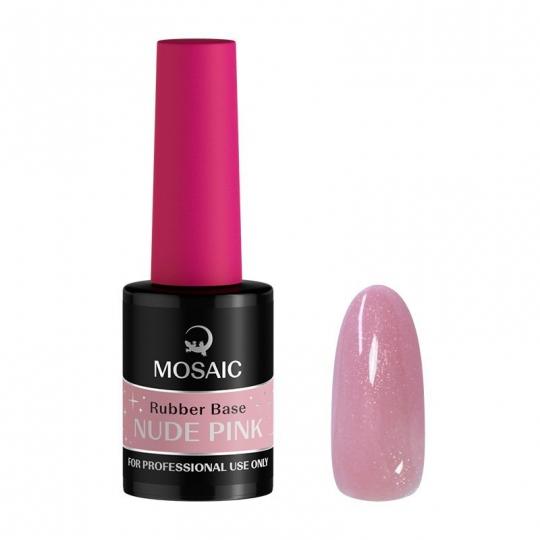 Nude Pink Rubber geel