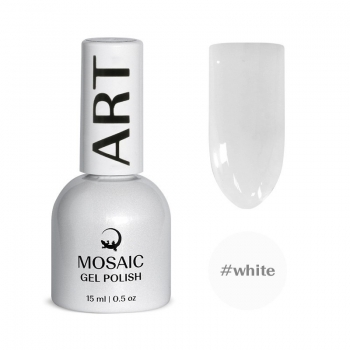 White gel polish 15 ml