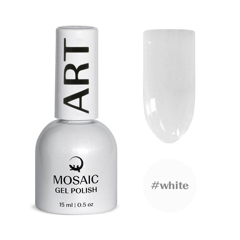 Белый гель лак 15 мл