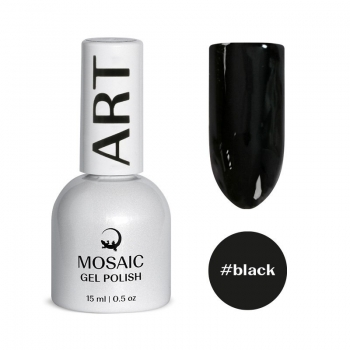 Black gel polish 15 ml