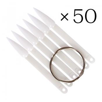 Типсы стилеты для образцов 50 шт