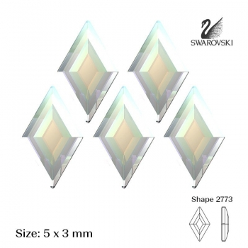 2773 Crystal AB- 5 pcs