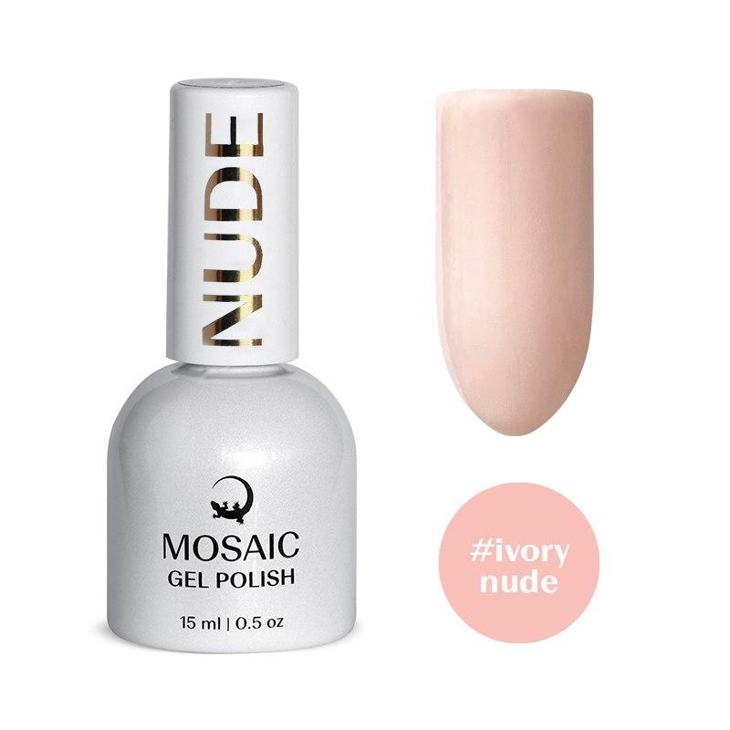 Ivory nude gel polish 15 ml