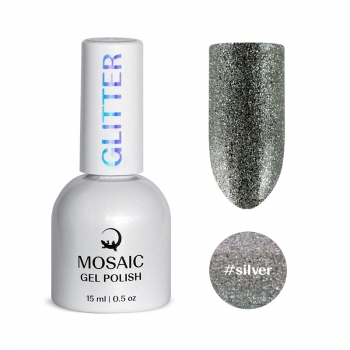 Silver gel polish 15 ml