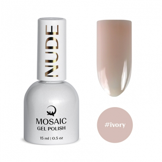 Ivory gel polish 15 ml