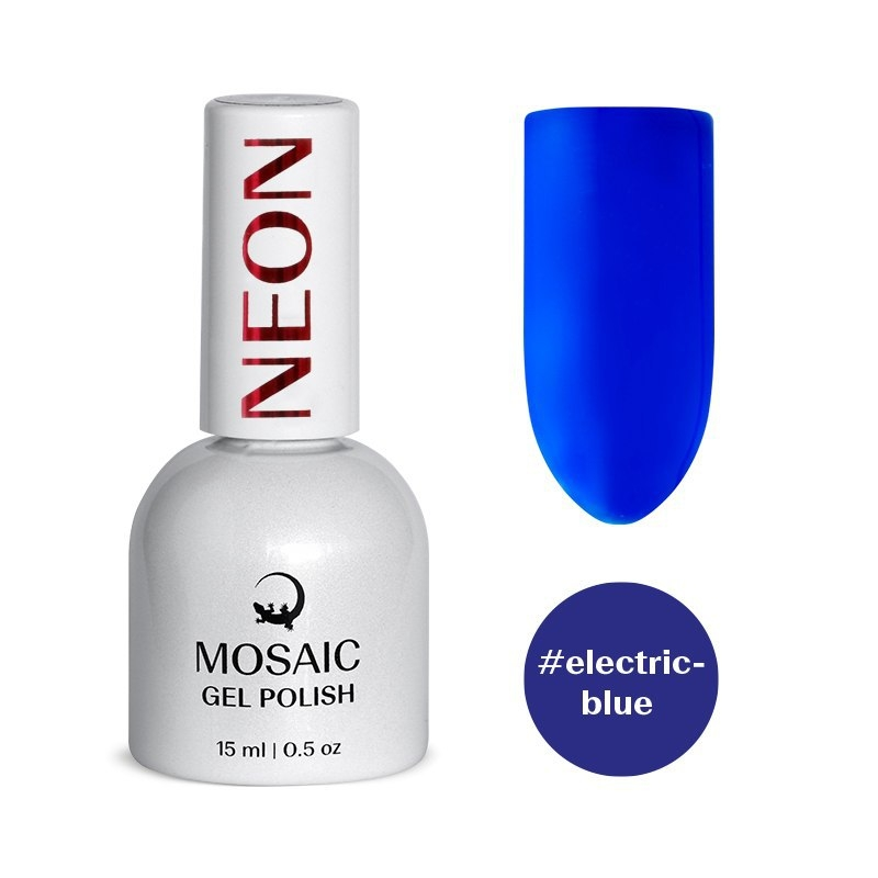 Electric blue гель лак 15 мл