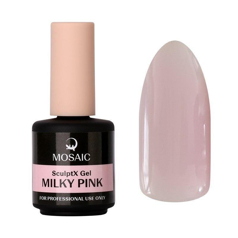 SculptX Milky pink builder gel