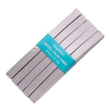 Nail file refill paper 180 - 50 pcs