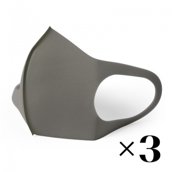 Reusable mask. Grey x3
