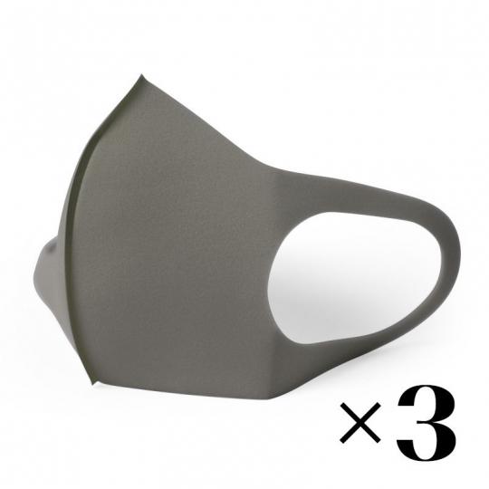 Многоразовая маска. Серая x3