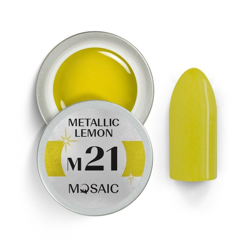 M21. Metallic lemon