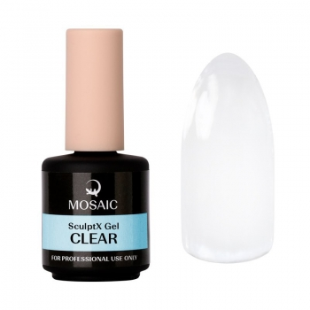 SculptX Clear builder gel