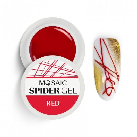 Spider geel Punane