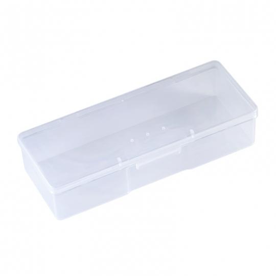 Storage box with lid