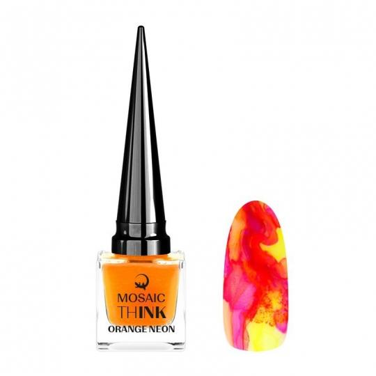 thINK Orange neon