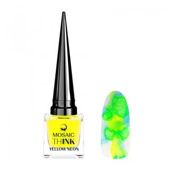 thINK Yellow neon