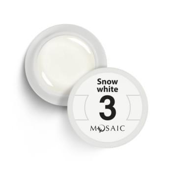 3. Snow white
