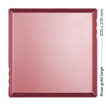 Розовое золото поднос Большой
