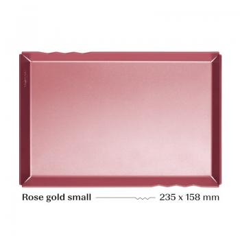 Розовое золото поднос Маленький