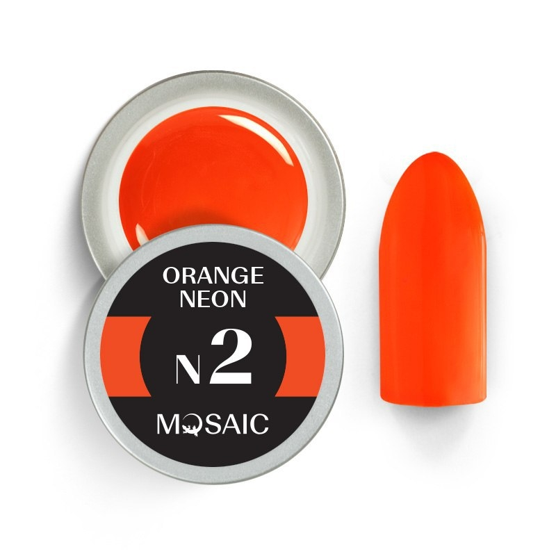 N2. Orange Neon