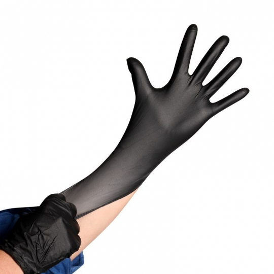 Black mamba nitrile gloves L