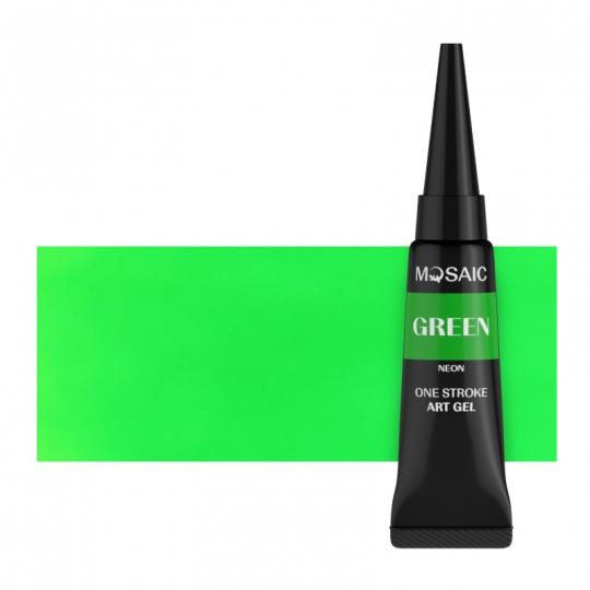 Зелёный неон арт гель 5 мл
