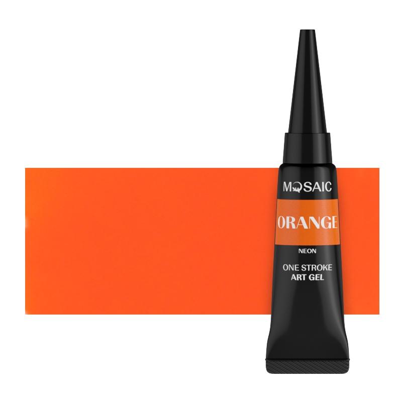 Orange neon art gel 5 ml