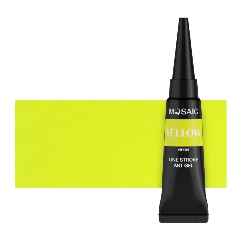 Yellow neon art gel 5 ml