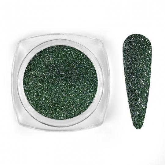 Green sparkle glitter