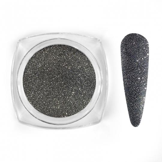 Silver sparkle glitter