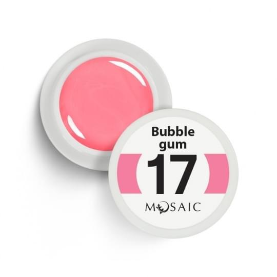 17. Bubble gum