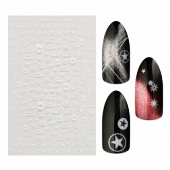 Sticker F338 White