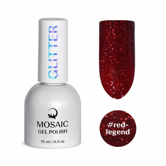 Red legend gel polish 15 ml