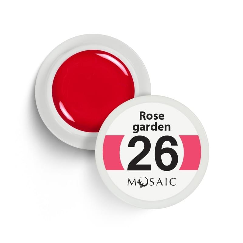 26. Rose garden